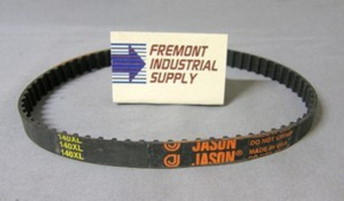 """210XL062 timing belt  21"""" x 5/8"""" wide  Jason Industrial - Belts and belting products"""