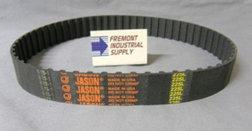 """124L025 timing belt 12.4"""" x 1/4"""" wide  Jason Industrial - Belts and belting products"""