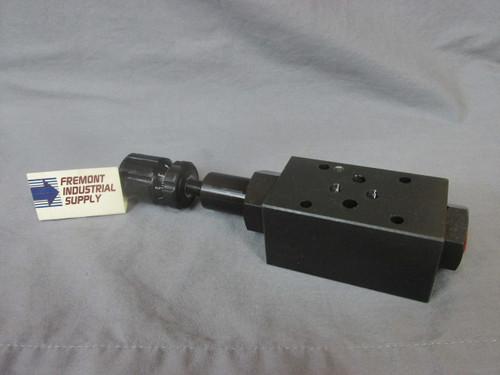 (Qty of 1) D05 Modular hydraulic relief valve 500-2000 adjustment range  Power Valve USA