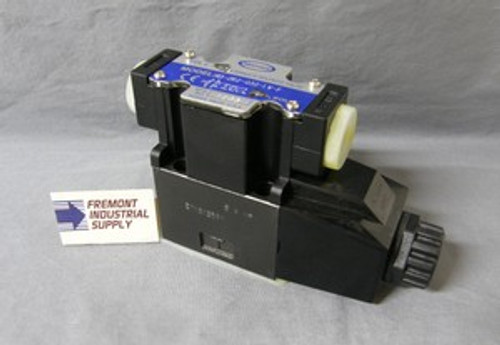 (Qty of 1) Power Valve USA HD-2B2-G02-LW-B-AC115 D03 hydraulic solenoid valve 4 way 2 position single coil  120/60 VOLT AC  Power Valve USA
