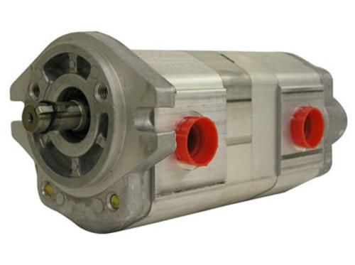 2DG1BU1407R Honor Pumps USA Tandem hydraulic gear pump 6.44 GPM/3.26 GPM @ 1800 RPM  Honor Pumps USA
