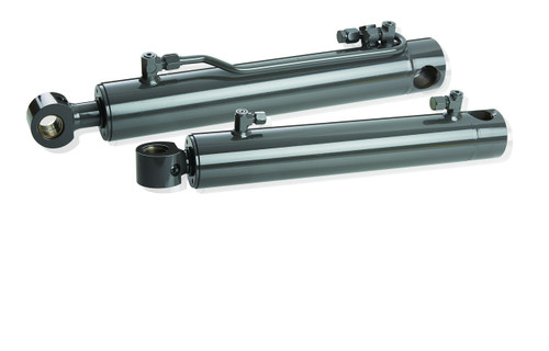 """7117667 Bobcat Hydraulic Cylinder 2-1/2"""" bore with 1-1/2"""" diameter rod Hercules Sealing Products"""