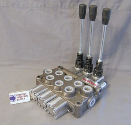 Hydraulic directional control valve 3 spool 16 GPM BUILT TO YOUR SPECS  Youli America