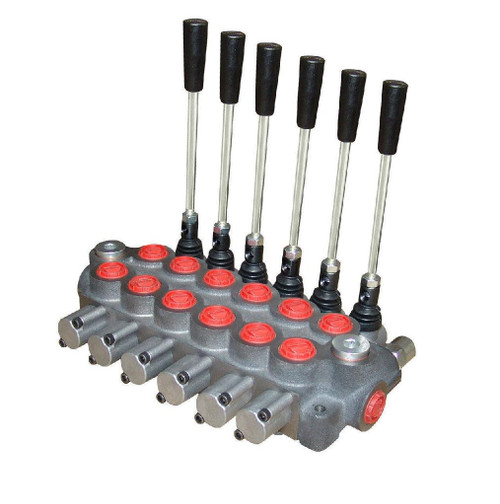 Hydraulic directional control valve 6 spool 12 GPM BUILT TO YOUR SPECS  Youli America