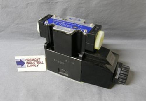 (Qty of 1) Power Valve USA HD-2A2-G02-LW-B-DC24 D03 hydraulic solenoid valve 4 way 2 position single coil  24 volt DC  Power Valve USA