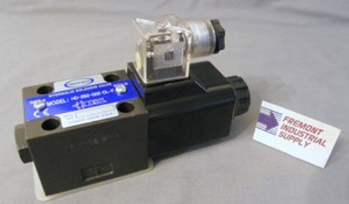 (Qty of 1) Power Valve USA HD-2A2-G02-DL-B-AC220 D03 hydraulic solenoid valve 4 way 2 position single coil  240/60 AC  Power Valve USA