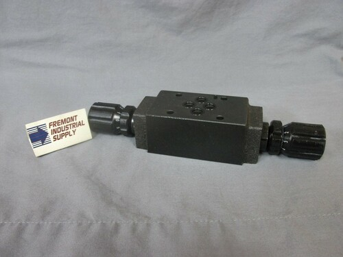 (Qty of 1)  Northman MT-02W-K interchange hydraulic  flow control valve  Power Valve USA
