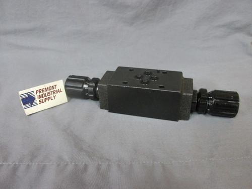 (Qty of 1) D05 Modular hydraulic  flow control valve  Power Valve USA