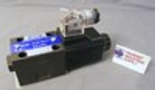(Qty of 1) Power Valve USA HD-2B2-G03-DL-B-AC220 D05 hydraulic solenoid valve 4 way 2 position single coil 240/60 VOLT AC