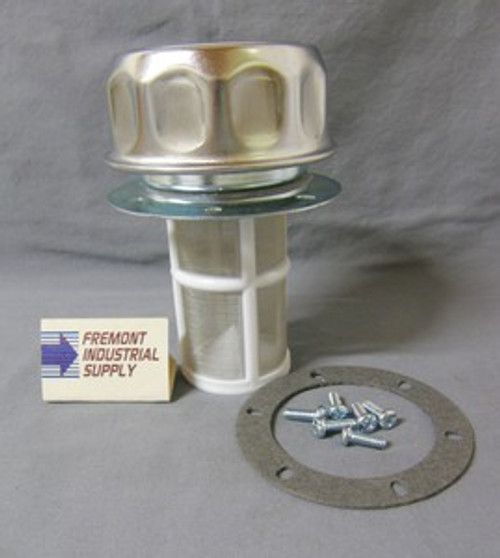 Hydraulic filler breather cap assembly