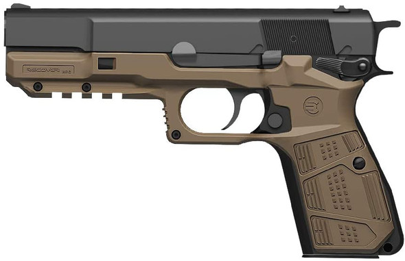 Recover Tactical HPC Grip and Rail System for The Browning and FN Hi Power Series of Pistols Hi Power Grips