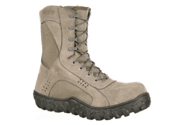 Men's Rocky S2V Composite Toe Tactical Military Sage Green Boot 7.5
