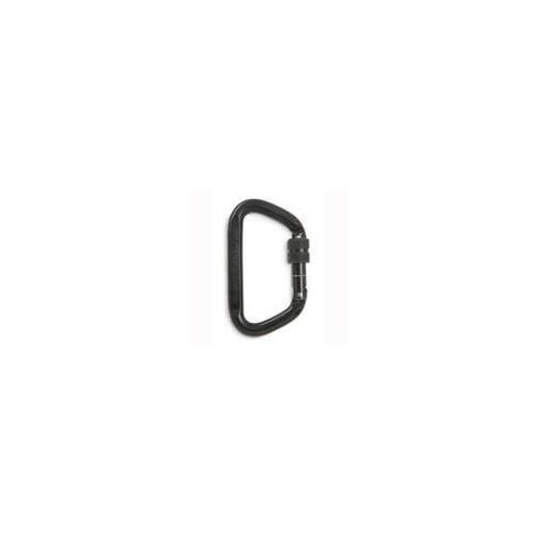 CMC Rescue 300115 CARABINER STEEL LOCK D BLK