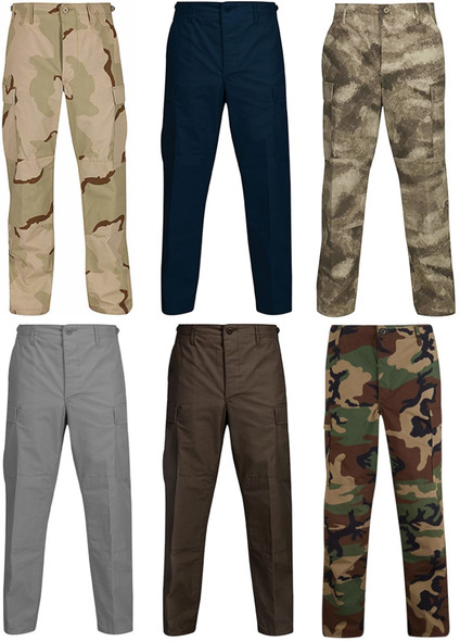 Propper Men's Bdu Trouser Button Fly - 65/35 Ripstop