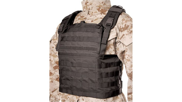 Blackhawk Lightweight Commando Recon Chest Harness, Black 37CL82BK