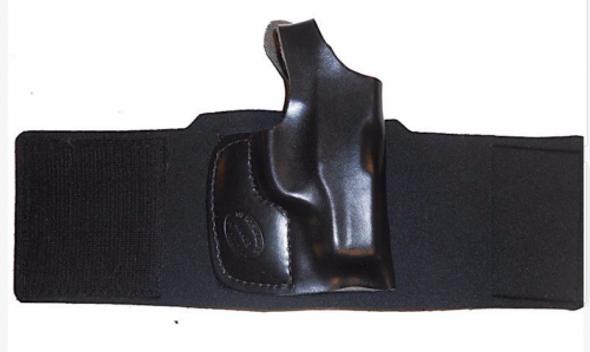 Galco Ankle Glove Black Glock 26 Left Ag287B