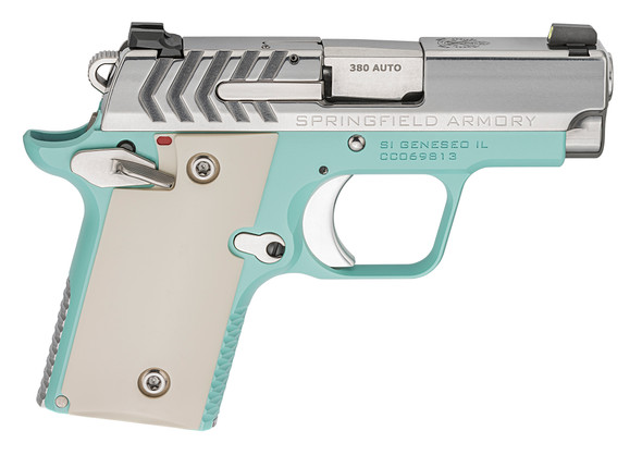 911 2.7″ .380 Acp Handgun – Vintage Blue/Stainless