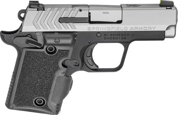 911 3″ 9mm Handgun W/ Viridian® Grip Laser – Stainless