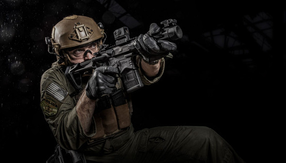 Saint® EDGE PDW AR-15 Pistol 5.56 Black