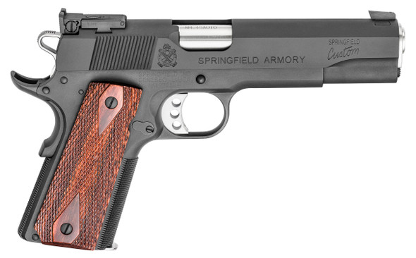 1911 National Match Hardball Handgun .45 ACP Black