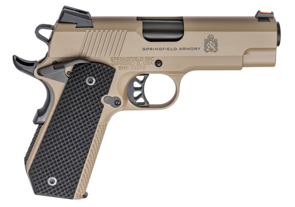 1911 Emp® Champion™Concealed Carry Contour 9mm Handgun – Desert Fde