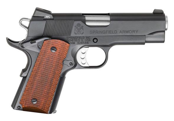 1911 Compact Carry Handgun .45 ACP Black