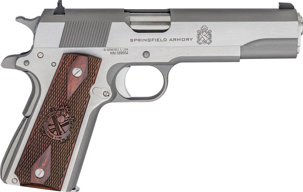1911 Mil-Spec .45 Acp Handgun – Stainless, CA Compliant
