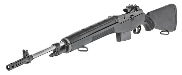 M1A™ Loaded Creedmoor Rifle, CA Compliant 6.5 CM Black