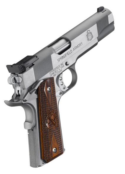 1911 Loaded Target 9mm Handgun – Stainless, CA Compliant