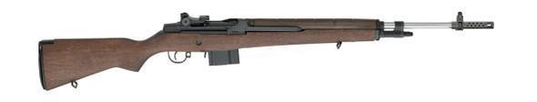 M1A™ Super Match Rifle W, Stainless Barrel, CA Compliant .308 Walnut
