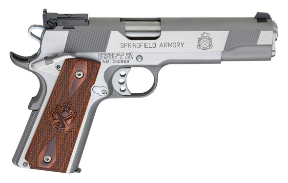 1911 Loaded Target .45 ACP Handgun – Stainless, CA Compliant