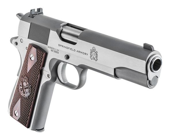1911 Mil-Spec .45 Acp Handgun – Stainless