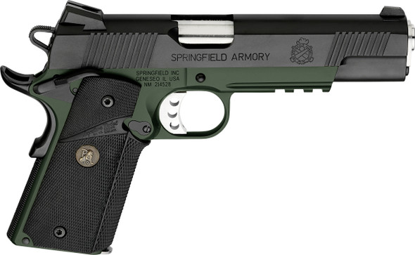 1911 Loaded Marine Corps. Operator® .45 Acp Handgun-Green/Black