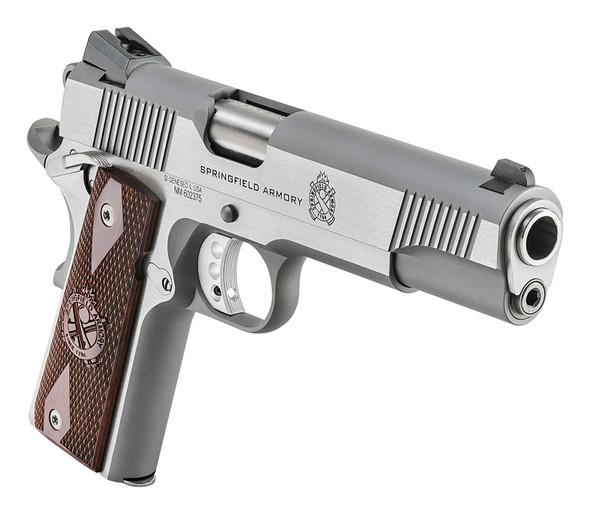 1911 Loaded .45 Acp Handgun – Stainless