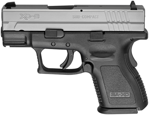 "Xd® 3"" Sub-Compact Handgun, Low Capacity 9MM Stainless"