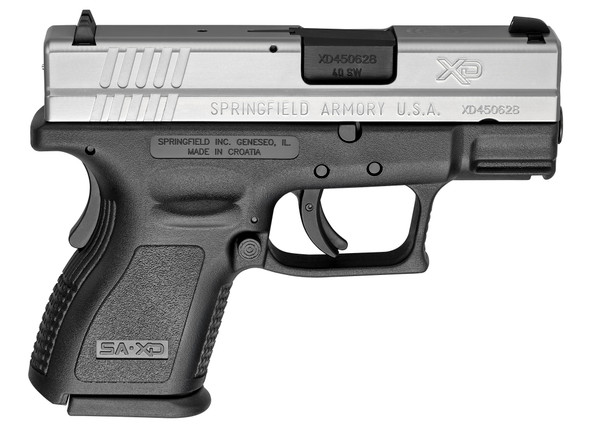 "Xd® 3"" Sub-Compact Handgun, Low Capacity .40 SW Stainless"