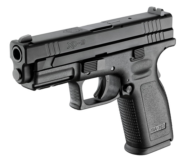 "Defend Your Legacy Series Xd® 4"" Service Model Handgun, Low Capacity 9MM Black"