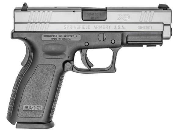 "Xd® 4"" Service Model Handgun, Low Capacity .40 SW Stainless"