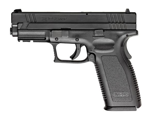 "Xd® 4"" Service Model Handgun, Low Capacity .45 ACP Black"