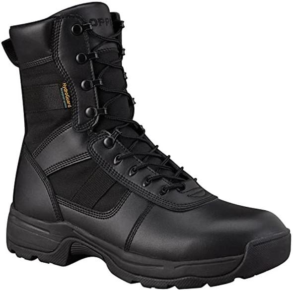 "Propper Men's Series 100 8"" Side Zip Waterproof Boot, Black"