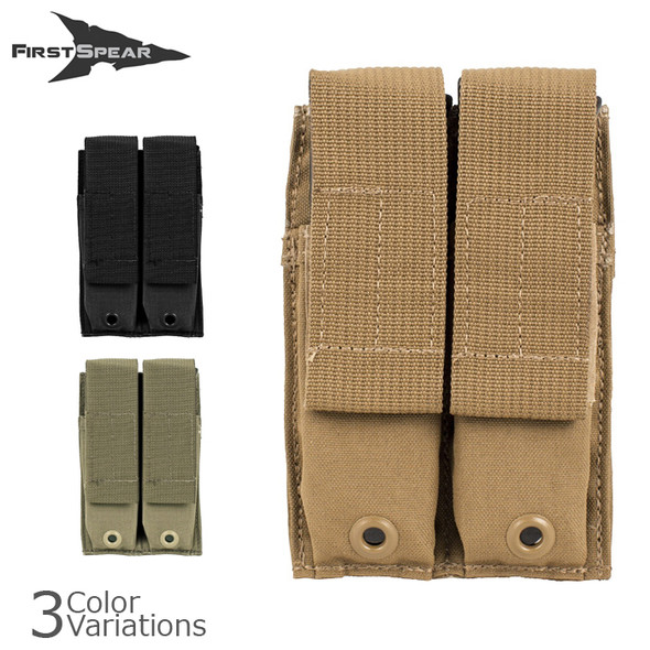 First Spear Magazine Pocket, Double, 6/9