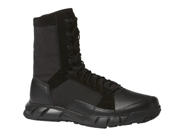 Oakley Mens SI Light Patrol Boots - Blackout