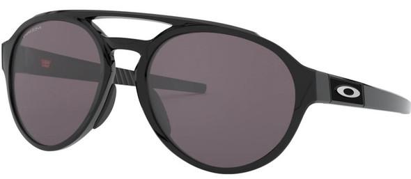 Oakley Forager Men's Polished Black Sunglasses w/ Prizm Grey Lens - OO9421-0158