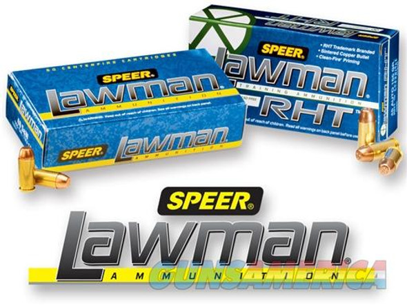 Speer Lawman RHT Frangible, 40 S&W, 125 Gr,  CF-RHT, Per 1,000 Rounds