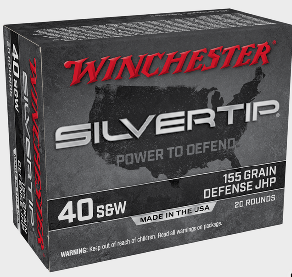 Trusted for decades when it matters most, Silvertip offers the time-proven design with the Power to Defend. BRAND:Silvertip ROUNDS PER BOX:20 ROUNDS PER CASE:200