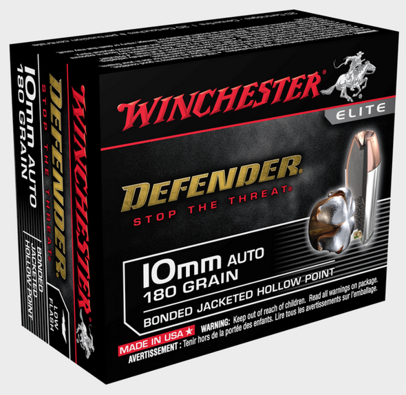 Engineered to maximize terminal ballistics as defined by FBI test protocol, Defender ammunition provides maximum stopping power for the ultimate in personal defense. Our innovative bonding process welds the jacket to lead core for improved penetration, 1.5x expansion, and the proven performance you rely on when the stakes are high.