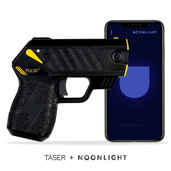 Taser Pulse + Self-Defense Tool with Noonlight Mobile Integration, Black