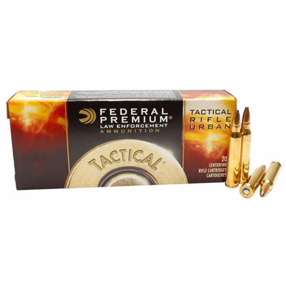 Federal Premium LE  .223 Soft point ammunition 20rds/box 500rds/Case