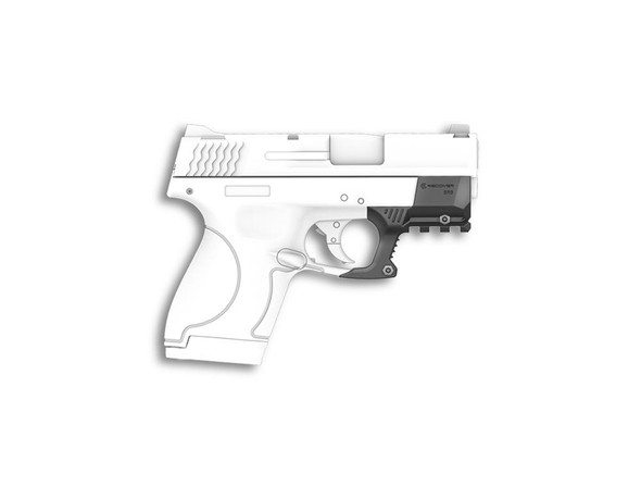 Recover Tactical Grx Compact Picatinny Rail For Glock