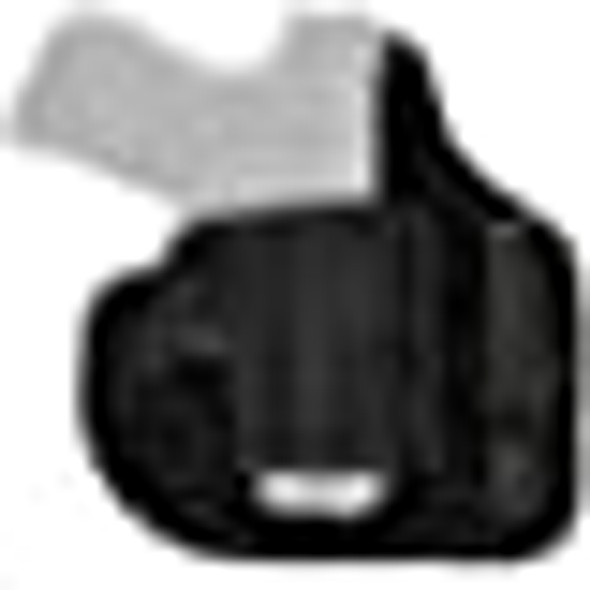 Galco QuickTuk Cloud Hybrid Kydex/Nylon IWB Holster (Black, Fits Glock 26, 27, 33)